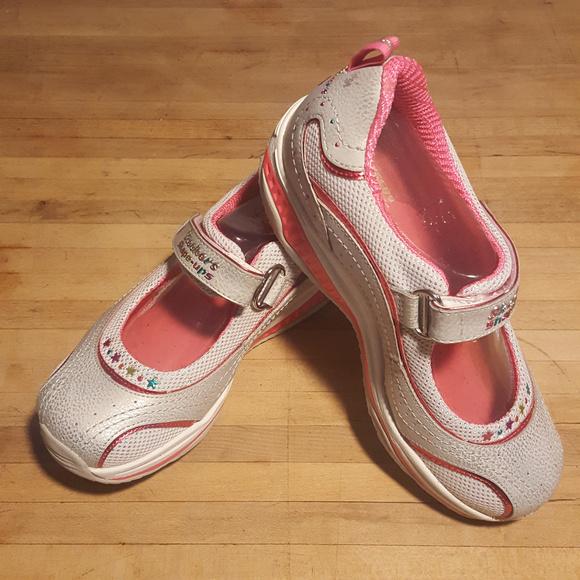 New Skechers Shapeups Girls Mary Jane